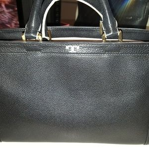 Tory Burch Black and White Bag